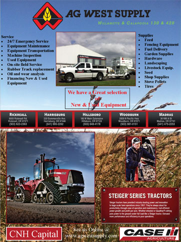 Ag West Supply >> Northwest Producers Directory Online Company Index